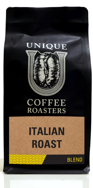 Italian Roast - Unique Coffee Roasters [16oz (1lb)(453.6g)]