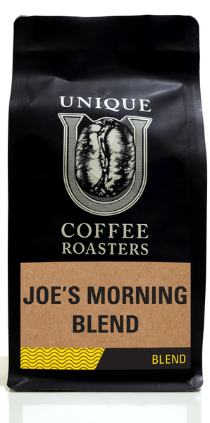 Joe's Morning Blend - Unique Coffee Roasters [16oz (1lb)(453.6g)]