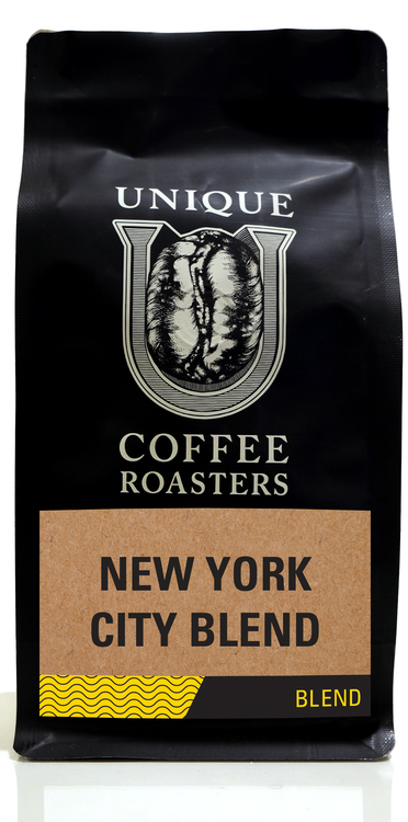 New York City Blend - Unique Coffee Roasters [16oz (1lb)(453.6g)]
