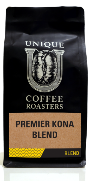 Premier Kona Blend - Unique Coffee Roasters [16oz (1lb)(453.6g)]