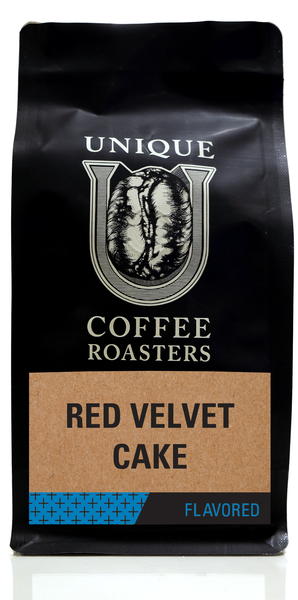 Red Velvet Cake Flavored Coffee - Unique Coffee Roasters [16oz (1lb)(453.6g)]
