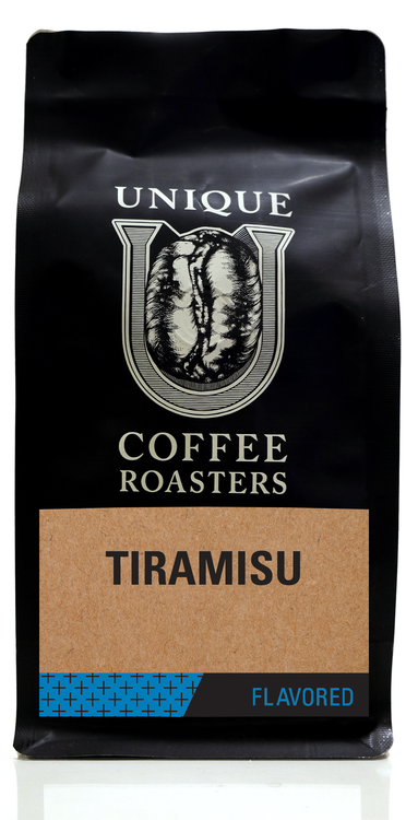 Tiramisu Flavored Coffee - Unique Coffee Roasters [16oz (1lb)(453.6g)]