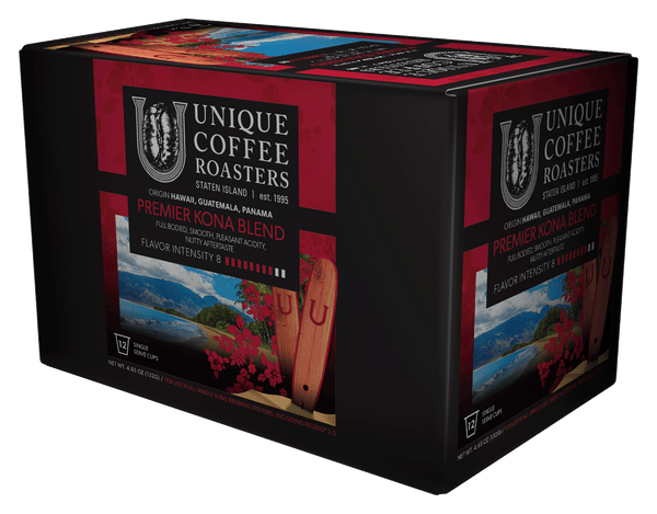 Premier Kona Blend - Single Serve Kup 12 Count