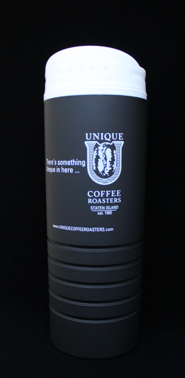 16oz Travel Mug - Matte Black