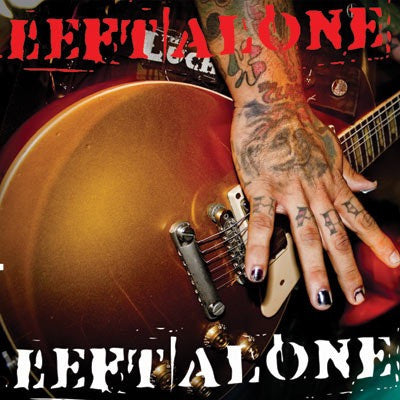"Left Alone / Peaceable Jones Split 7"" Record"