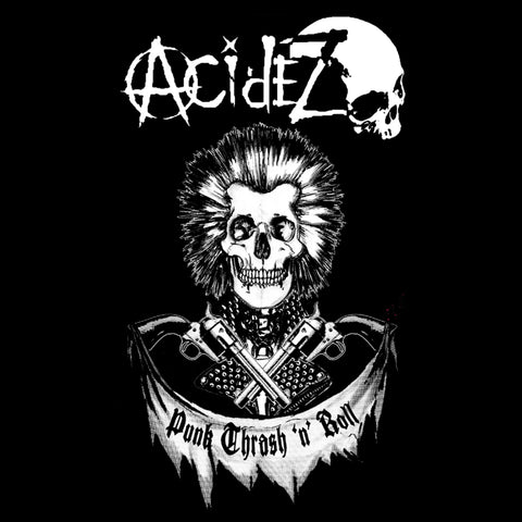 "Acidez ""Punk Thrash n Roll"" Back Patch"