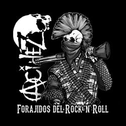 "Acidez ""Foradijos Del Rock N Roll"" Back Patch"