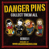 "Danger Pins Series 1 ""Skin Kid"""