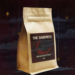 "Left Alone "" The Darkness""  Dark Roast Coffee / Download Bundle"
