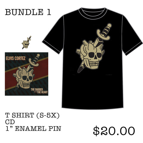 "Elvis Cortez ""The Dagger and The Heart"" Bundle 1"
