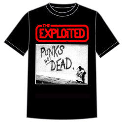 "The Exploited ""Punks Not Dead"" Shirt"