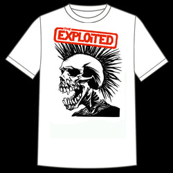 "The Exploited ""Pushead Skull "" Shirt"