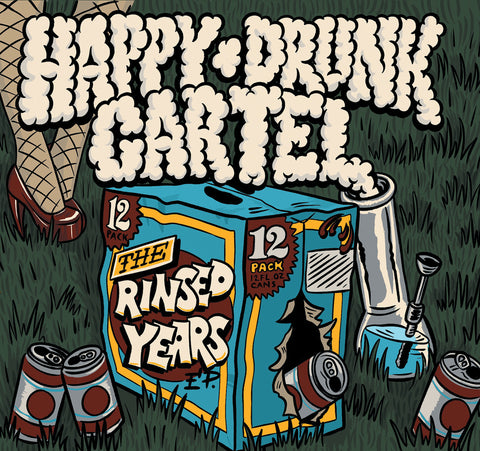 "Happy Drunk Cartel ""The Rinsed Years"" CD EP Pre Sale OUT FEB 28th"