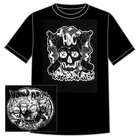 "Happy Drunk Cartel ""Skull""  CD/Shirt Bundle"