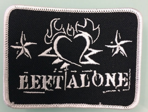 "Left Alone ""Heart Logo"" Embroidered Patch"
