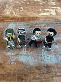 Left Alone Acrylic Pins