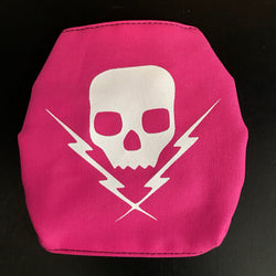 "Death By Stereo ""Logo"" Mask Pink"