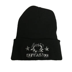 "Left Alone ""Heart Logo "" Beanie"