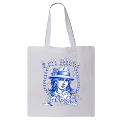 "Left Alone ""Te Quiero Ver"" Canvas Bag"