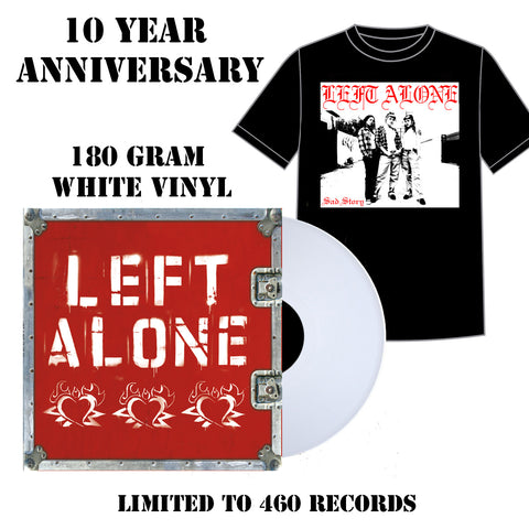 "Left Alone ""Self Titled"" 12"" Bundle"