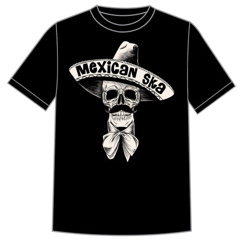 "Smelvis Records ""Mexican Ska Skull"" Shirt"
