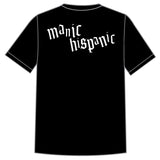 "Manic Hispanic ""Vatos Locos"" Black Shirt"