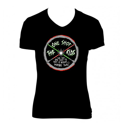 "The One Shot Kids ""Logo"" Shirt (Womens)"