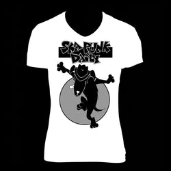 "Ska Punk Daily ""Dog Skanking"" Shirt (Woman)"