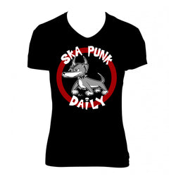 "Ska Punk Daily ""Dog"" Shirt (Woman)"