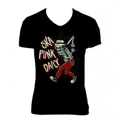 "Ska Punk Daily ""Skanking Bones"" Shirt (Woman)"