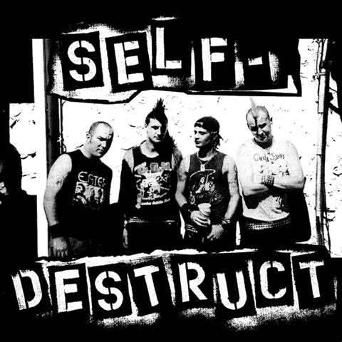 "Self Destruct ""Band"" Back Patch"