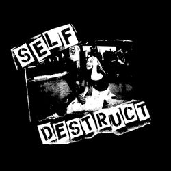 "Self Destruct ""Victim"" Back Patch"