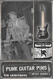 "Tim Armstrong ""Opivy Guitar"" Punk Guitar Pin Series #1"