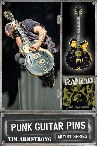"Tim Armstrong ""Gretsch"" Punk Guitar Pin Series #3"