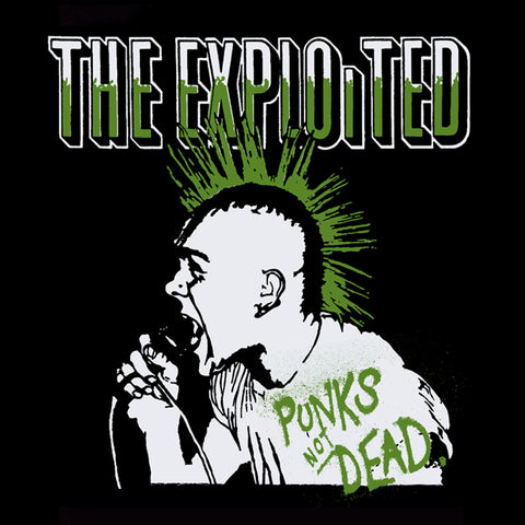 "The Exploited ""Punks"" Back Patch"