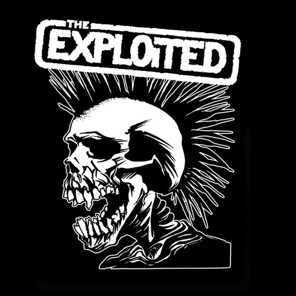 "The Exploited ""Pushead Skull"" Back Patch"