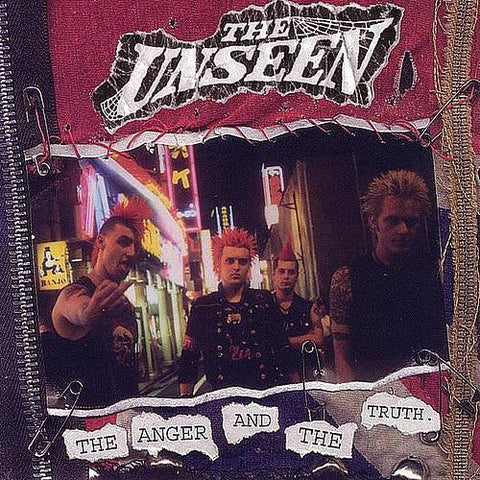 "The Unseen ""Anger & The Truth"" CD"