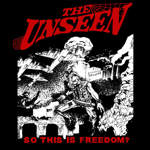 "The Unseen ""So This is Freedom?"" Back Patch"