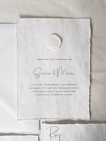Paper and Style Co. Minimal Luxe seal