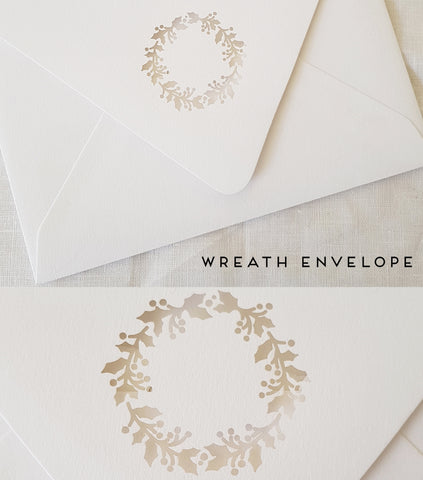 Paper and Style Co. Minimal Luxe specialty envelopes