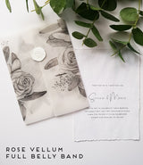 Vellum Belly Bands/Wraps