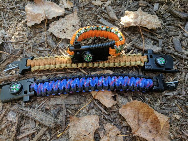 Paracord Survival Wristband - Scout Series
