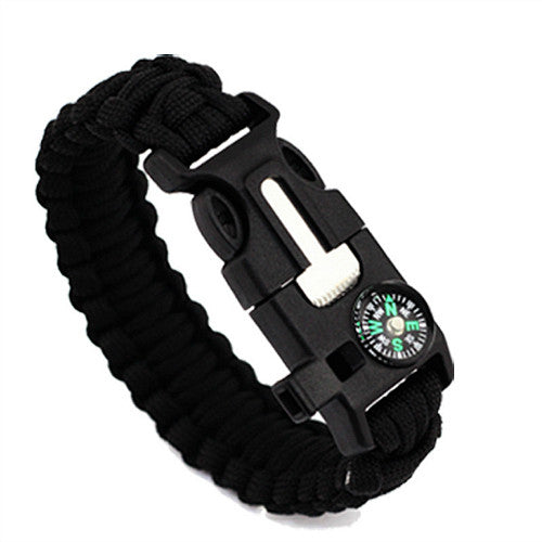 5-in-1 Survival Wristband
