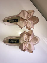 SAMPLE Clementine Velvet Bow Loafers
