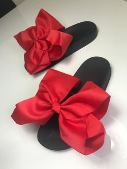 Rouge Bow Noir Slides