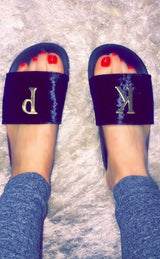 Black Velvet Personalised Slides