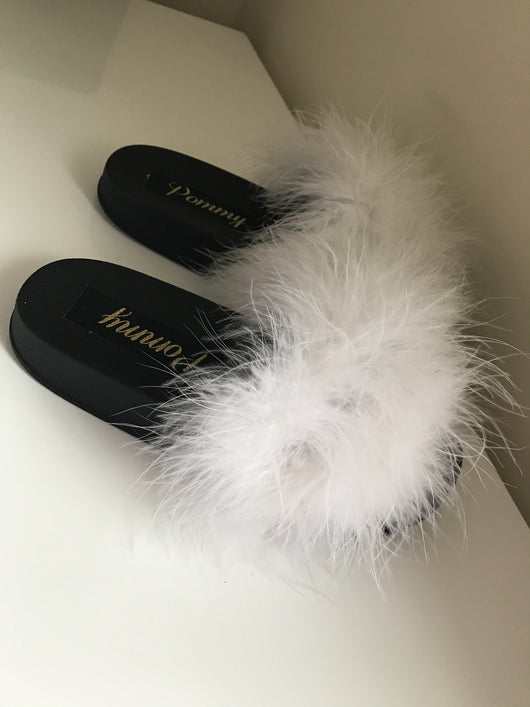 Monochrome Luxe Slides
