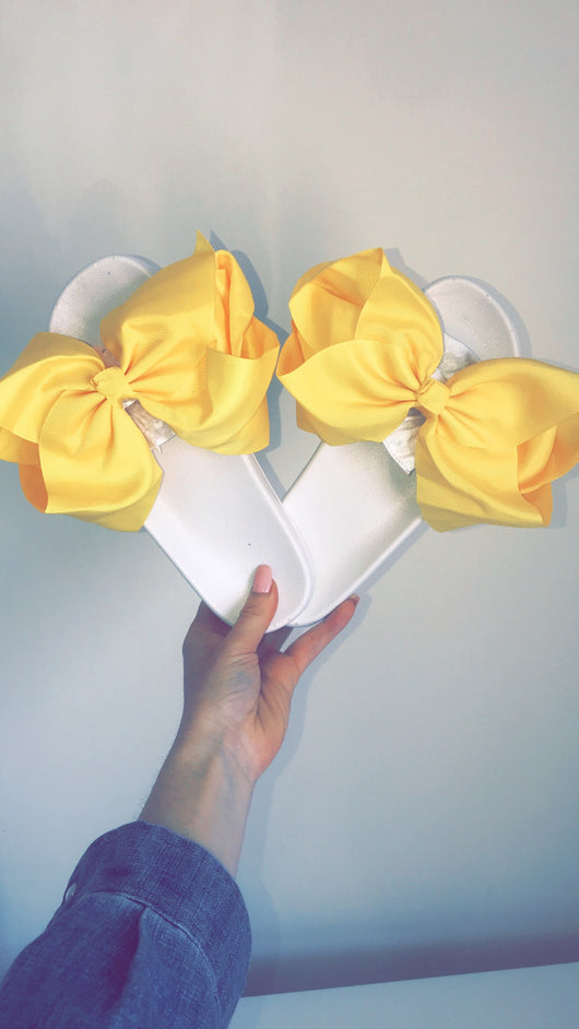Sunshine Baby Bow Slides