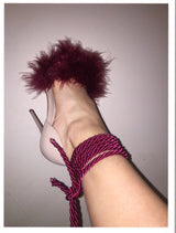 Mulberry Feather heels
