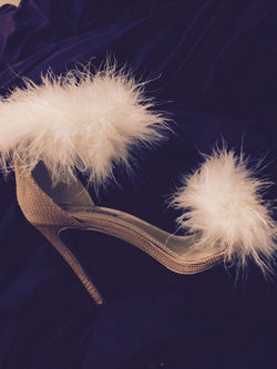 Angelica Feather Heels